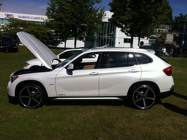 modified 2012 bmw x1 xdrive 28i at vancouver concours even. Black Bedroom Furniture Sets. Home Design Ideas
