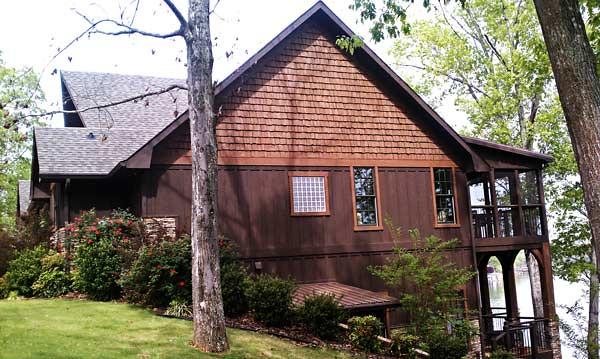 Appalachia lake home plan 600 for A frame mountain house plans