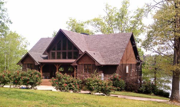 Appalachia lake house plan 605 for A frame mountain house plans