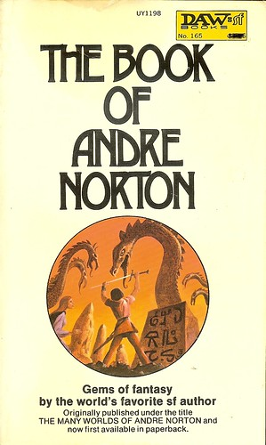 Book of Andre Norton - Andre Norton - cover artist Jack Gaughan