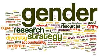 Gender 'tag cloud'