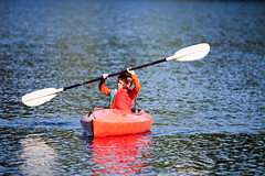 canoe sprint(0.0), oar(0.0), boats and boating--equipment and supplies(1.0), vehicle(1.0), watercraft rowing(1.0), kayak(1.0), boating(1.0), extreme sport(1.0), kayaking(1.0), watercraft(1.0), sea kayak(1.0), canoeing(1.0), boat(1.0), paddle(1.0),