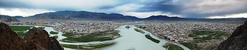 mongolia panorma soum bayanulgii ulgii olgey