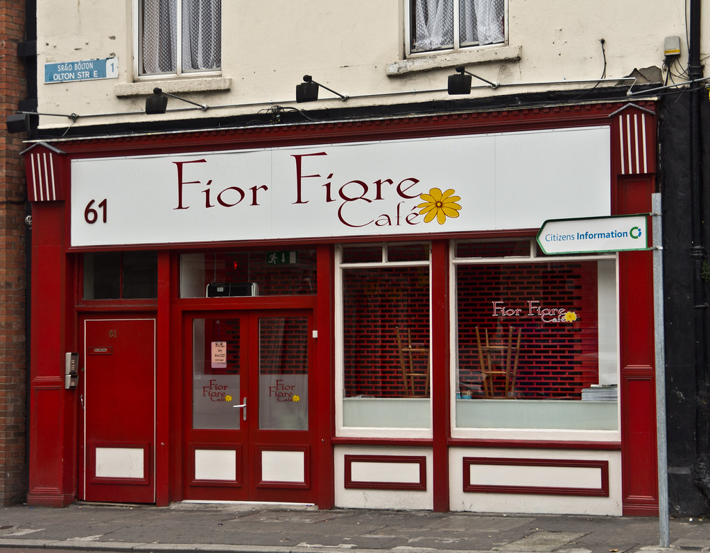 Another Business Closes - Foir Figre Cafe On Bolton Street