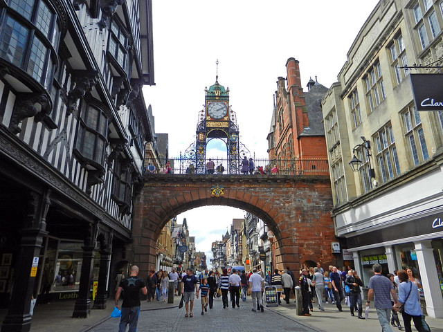 Chester, Cheshire, Eng...