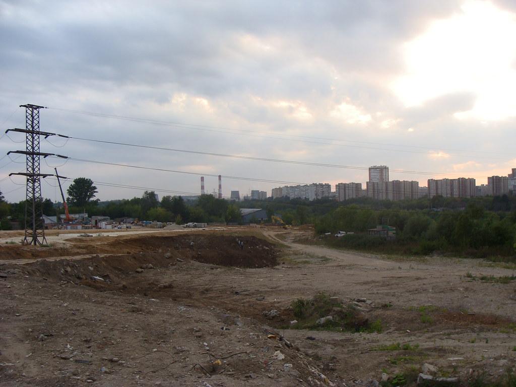 Мосфильмовская в Матвеевское