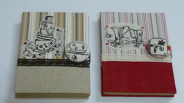 handcrafted journal J4&J5