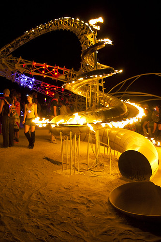 BURNING MAN FLICKER