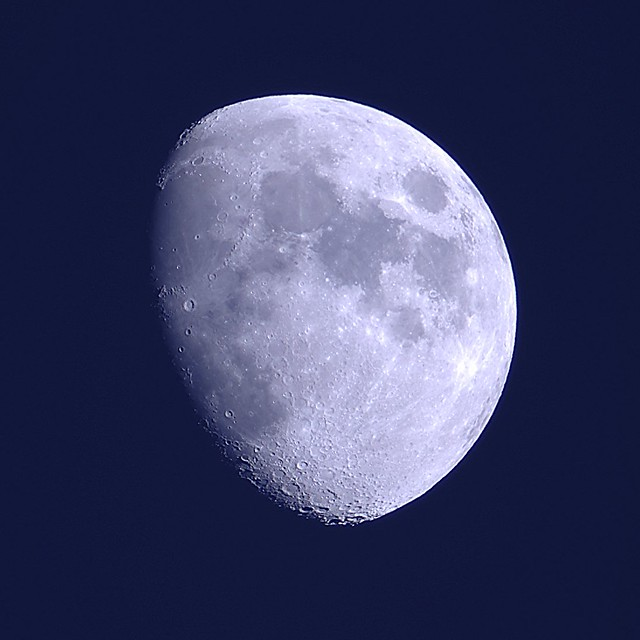 Waxing Gibbous Moon Flickr Sharing