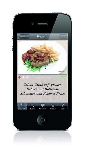 go veggie meine vegetarische rezept app ist da. Black Bedroom Furniture Sets. Home Design Ideas
