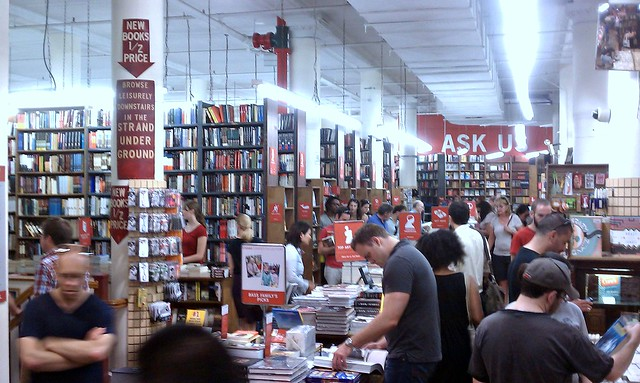 The Strand Bookstore in NYC and 18 Miles of Books