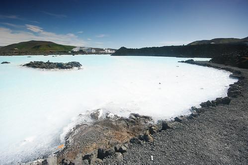 Mineral water, Blue Lagoon