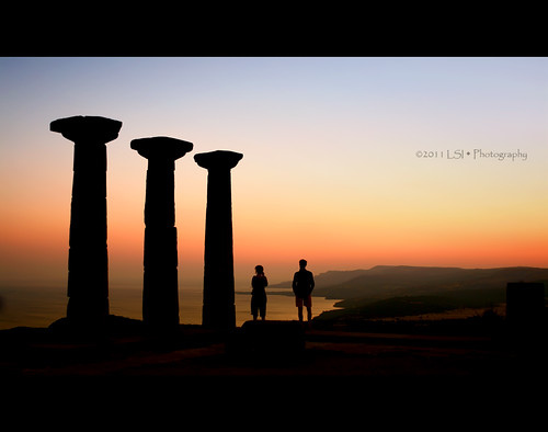 Dreaming At Temple Of Athena
