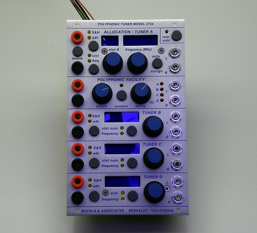 Buchla 272e Polyphonic Tuner by Yotsuba&!