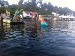 Landøya, gallionsfigur, havfrue