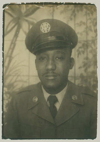 Photobooth man in uniform