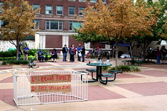 #OccupyWichita 'Free Speech Zone'
