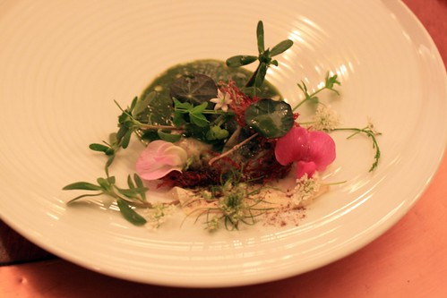 "Town House - Chilhowie, VA - August 2011 - ""Beef Cheek and Tongue . . . Pastoral (Cow's milk, Toasted Garlic, Horseradish, Grasses and Hay"