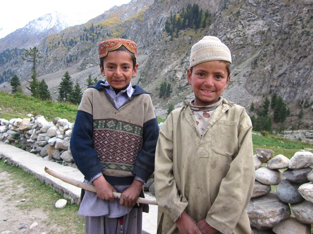 Cute little Pakistan children.