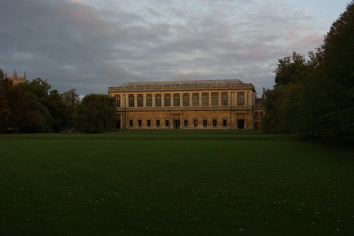 Trinity College Wren Library Cambridge