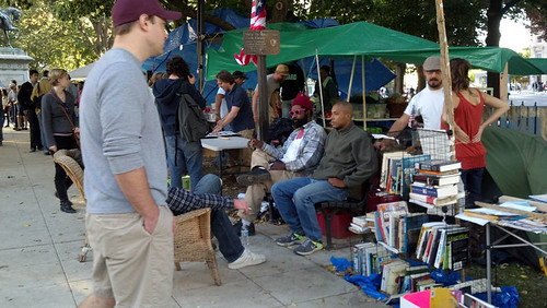 The People's Library, Occupy DC, October 15, 2011