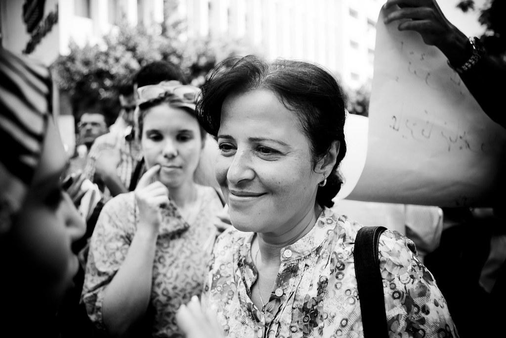 Dr. Mona Mina الدكتورة منى مينا by Hossam el-Hamalawy حسام الحملاوي