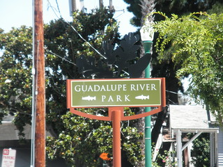 Guadalupe River Park - Sign
