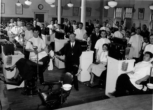 Senior dental class, 1936