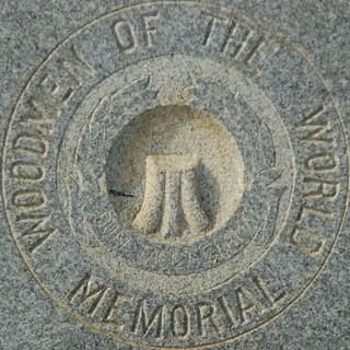 Woodmen of the World Memorial - squared circle