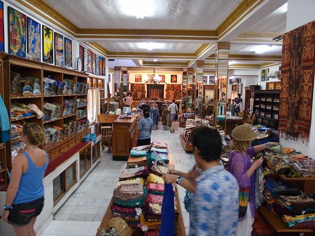 Batik Silk Painting - Bali Indonesia
