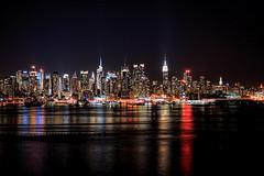 New York City - Manhattan Skyline at night 02