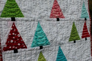Close up of quilting 3