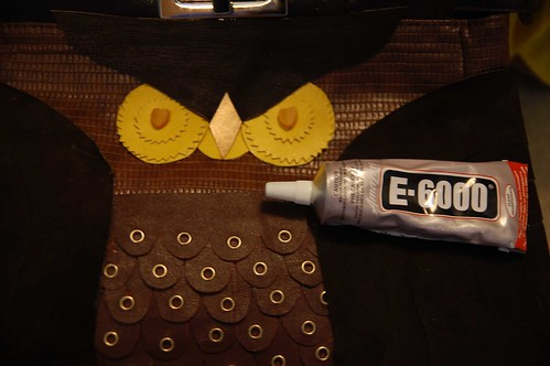 DIY Owl Purse