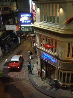 Bulldog's Bar and Grill, Lan Kwai Fong
