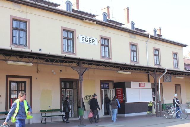 Estación de tren de Eger