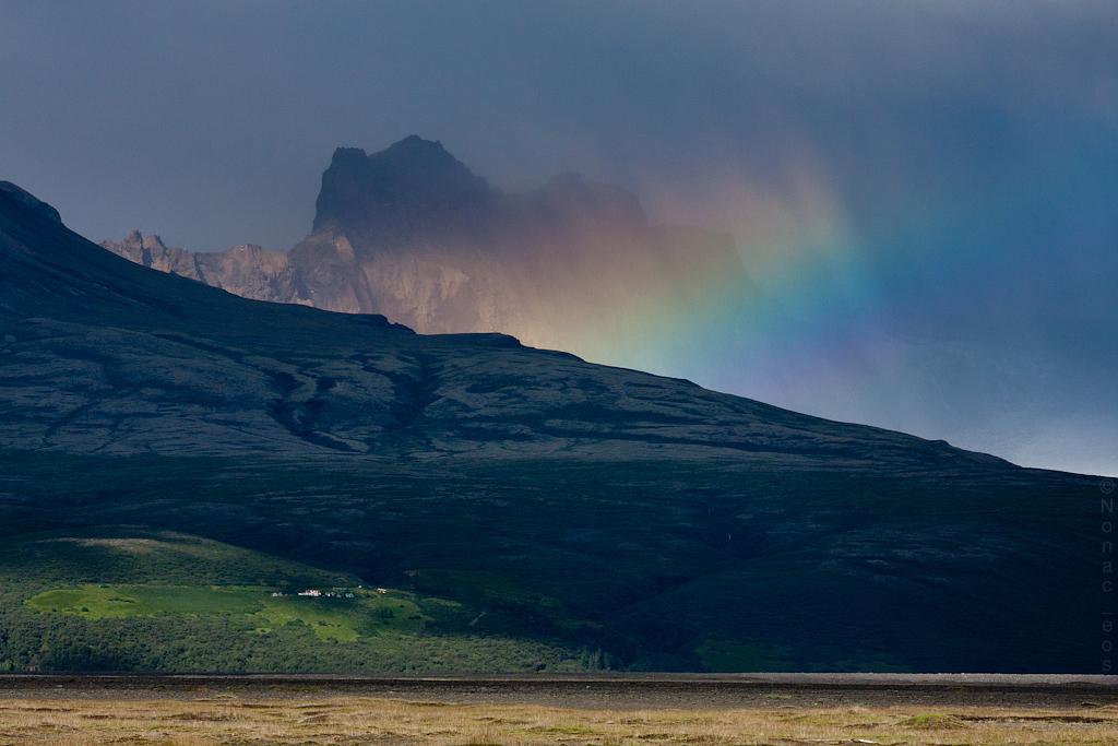 Giant Rainbow (minutes later)  - ?jo?vegur (Rte 1) - Iceland