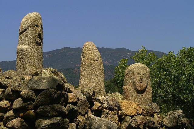 Menhirs Filitosa is de 7e bezienswaardigheid uit de Bezienswaardigheden Corsica Top 10