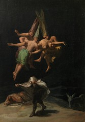 Witches in the Air (Vuelo de brujas), by Francisco de Goya