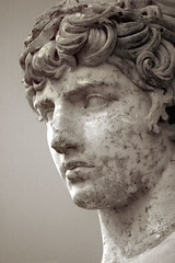 The Delphi Antinous, c.117-138 AD, Parian Marble, photographer unknown