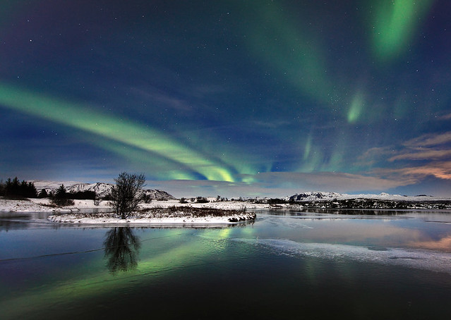 Magnetic Disturbance, Aurora at Þingvellir, Iceland