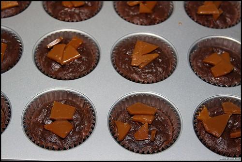 Vosges Brownie Cupcakes