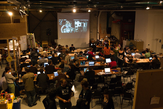 Mission control, Science Hack Day SF