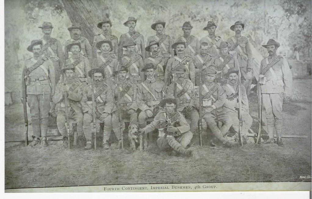 Western Australian Bushmen's Contingent, Boer War 1900