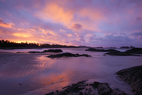 Sunrise at Chesterman Beach, Tofino