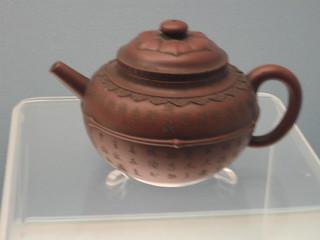 Chinesische Teekanne aus Ton