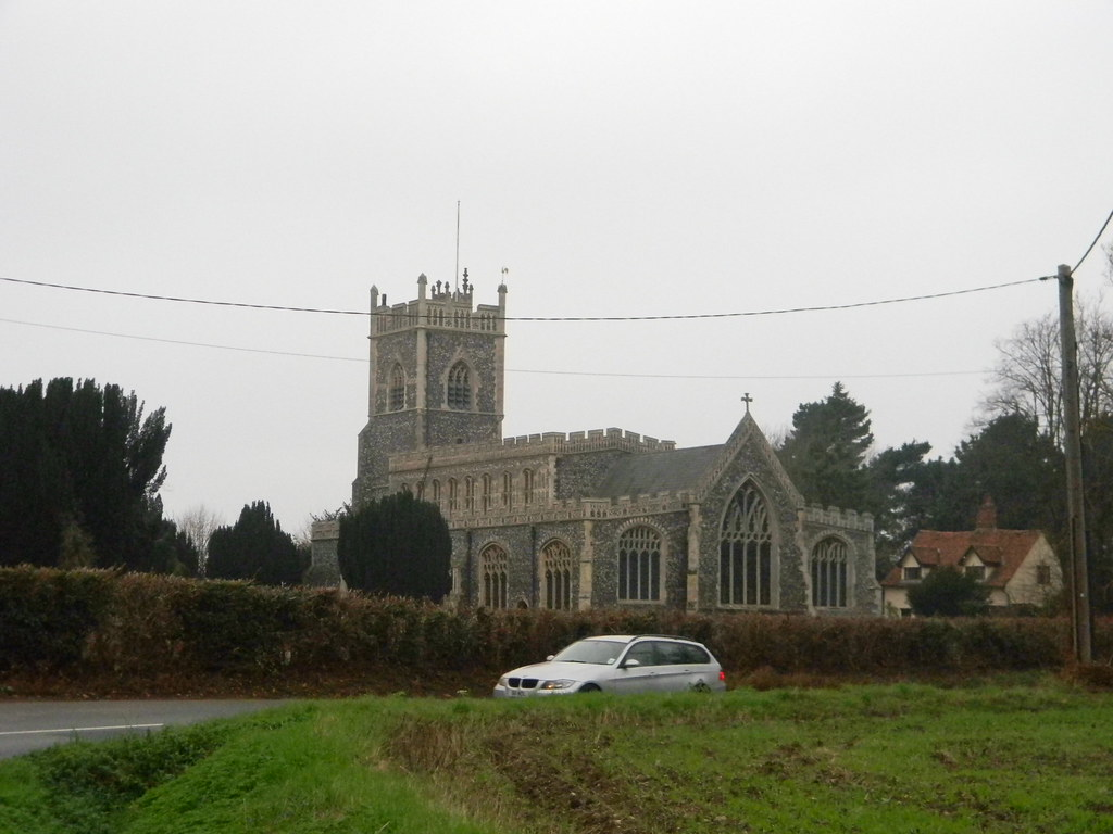 Stratford St Mary Church Manningtree Circular