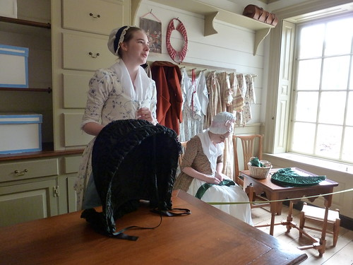 Margaret Hunter milliner's shop, Colonial Williamsburg