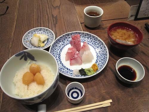 お造り盛り合わせ定食 by Poran111