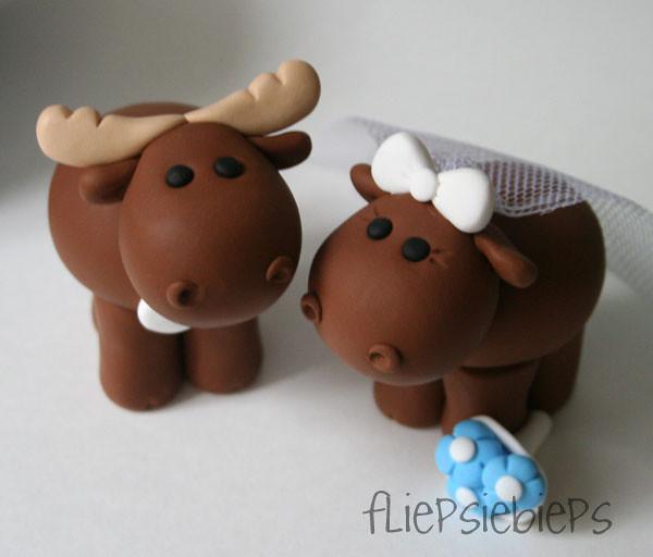 Moose Cake Topper