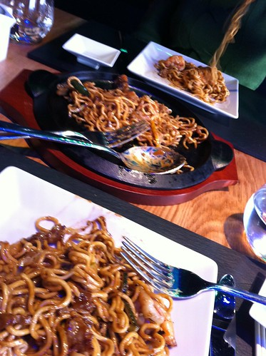 Pasta con Gambas  Japones BIlbao shibui by LaVisitaComunicacion